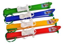 Лыжи с палками Marmat детские пласт., длина-60см зеленый