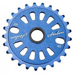Звезда к шат. STOLEN 25T Class chainring CNC Dark Blue 5mm