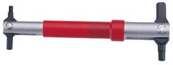 Ключ шестигранник ICE TOOLZ 36H1 4/5/6/8 мм с измен. углом