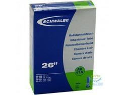 Камера 26 (18/25x559/571) a/v 40мм Schwalbe AV11A EXTRA LIGHT IB AGV