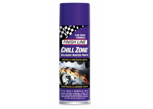 Очиститель Finish Line Chill Zone для удаления ржавчины, разблокировки залипших болтов, 177ml аэрозоль