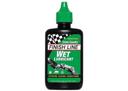 Смазка Finish Line жидкая Wet Lube (Cross Country) для влажных погодных условий, 120ml