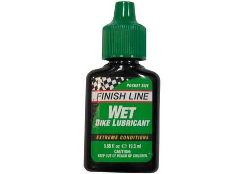 Смазка Finish Line жидкая Wet Lube (Cross Country) для влажных погодных условий, 19ml