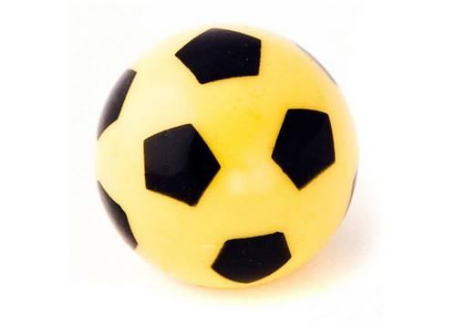 Колпачок для камеры TW V-27 в виде футбольного мяча из пластика, желт. цвета (в комплекте 4 шт) Автомобильного стандарта