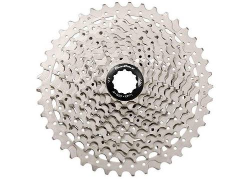Кассета инд. 10-k 11-34T SUN RACE MS MTB, metallic/silver