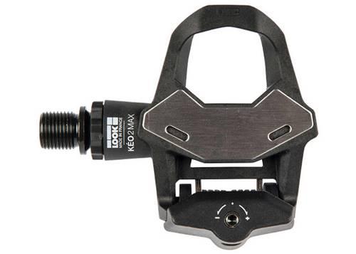 Педаль Look KEO 2 MAX BLACK, композит, ось chromoly 9/16, черная