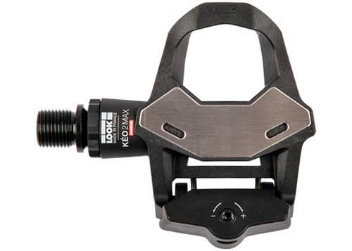 Педаль Look KEO 2 MAX CARBON, карбон, ось chromoly 9/16, черная