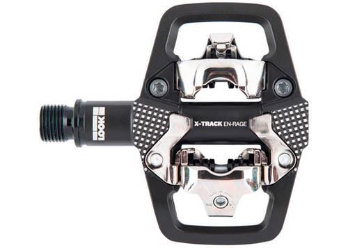 Педаль Look X-TRACK EN-RAGE алюминий, ось chromoly 9/16, черная