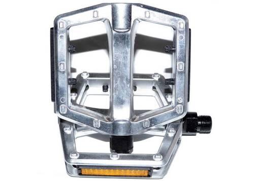 Педаль VP VP-501 9/16 х20Т, ось Steel, 504гр (пар.) серебристая
