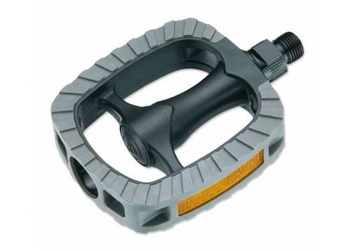Педаль VP VP-819 Comfort, шариковые подшипники, бористая сталь, ось 9/16 (размер 106х84,5мм) 320г