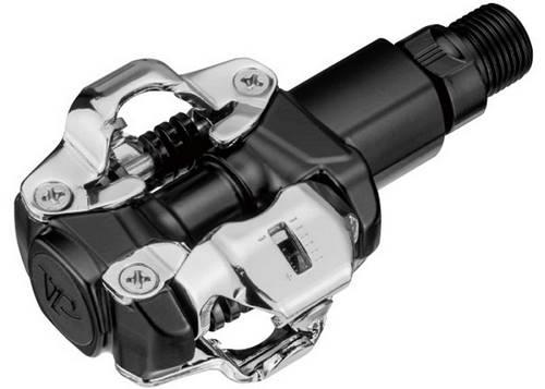 Педаль VP VX-1001 MTB ось 9/16x20T фрезерованная хроммолибденовая, шариковые подшипники, в комплекте шипы VP-C51, вес 396г