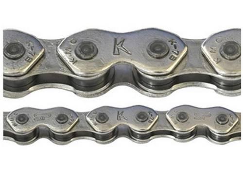 Цепь инд. 100 зв. 1/2x1/8 KMC K1 Wide (K710) silver/silver