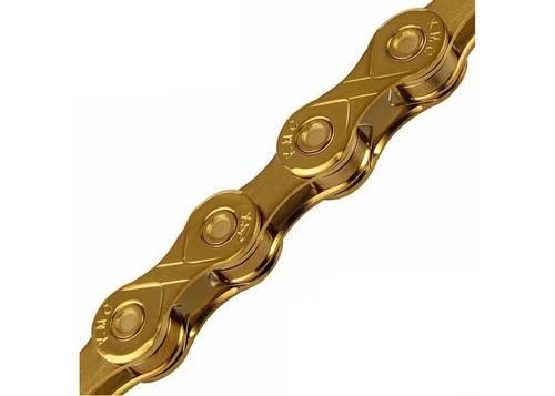 Цепь инд. 116 зв. 1/2x3/32 KMC X8 Gold/ Gold