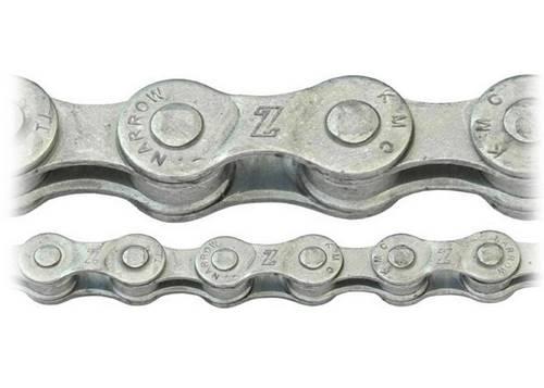 Цепь инд. 116 зв. KMC Z7 (Z51) Silver/Silver 7ск