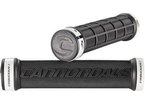 Грипсы Cannondale DC Dual Lock-On черные с белым