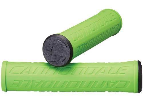 Грипсы Cannondale LOGO силикон зеленые