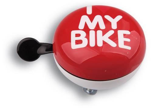 Динг-Донг Green Cycle GBL-458 I love my bike диаметр 80мм красный