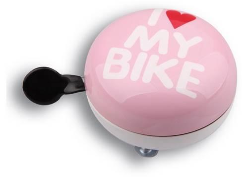 Динг-Донг Green Cycle GBL-458 I love my bike диаметр 80мм розовый