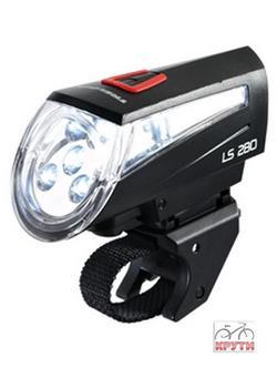 Фара LS 280 SPORT FB BLACK BATT ZL7 Trelock