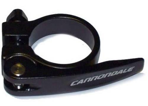 Подседельный хомут Cannondale QR 34.9мм, черный KP170/BLK