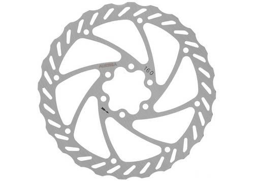 Ротор дискового тормоза ALHONGA HJ-DXR1603-SI 160мм нержавейка