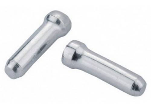 Законцовка троса JAGWIRE BOT117-C - диам. 1.8 и тоньше Silver (500шт)
