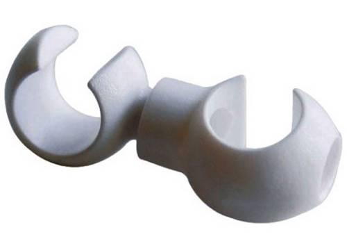 Крючек для скрепления рубашки JAGWIRE CHA093 поворотный White (4шт)