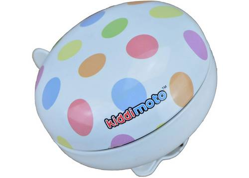 Звонок KiddiMoto цветной горошек, маленький
