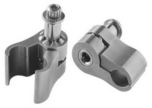 Лапка на трос регулируемая JAGWIRE DCA010 (2 шт) Silver