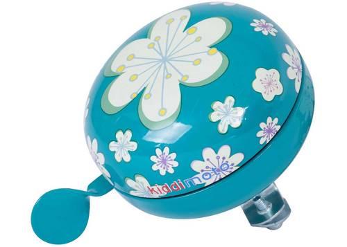 Звонок KiddiMoto цветы, голубой, большой