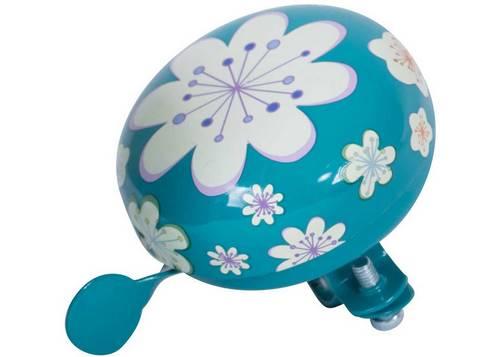 Звонок KiddiMoto цветы, голубой, маленький