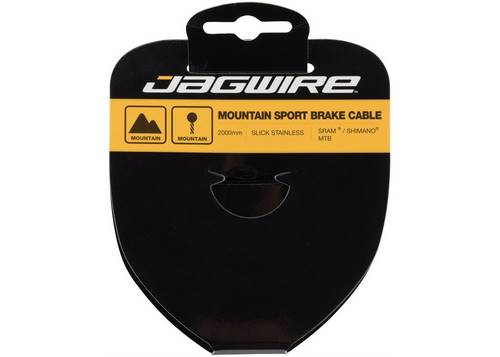 Трос для тормоза JAGWIRE 94SS2000 шлифов. нержав. - 1.5X2000мм - SRAM/Shimano MTB