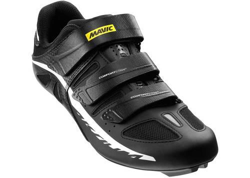 Обувь Mavic AKSIUM II, размер UK 7,5 (41 1/3, 261мм) Black/White/Bk черно-белая