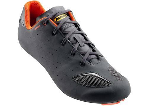 Обувь Mavic AKSIUM III, размер UK 10,5 (45 1/3, 286мм) Asphalt/Orange серо-оранжевая