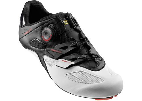 Обувь Mavic COSMIC ELITE, размер UK 8,5 (42 2/3, 269мм) Bk/Wh/Bk черно-белая