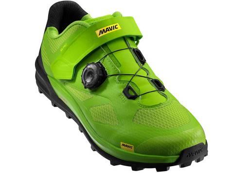 Обувь Mavic XA PRO, размер UK 10 (44 2/3, 282мм) Lime Green/Pirate Black салатово-черная