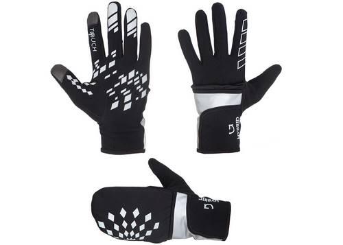 Перчатки Green Cycle Fog зимние XL черные