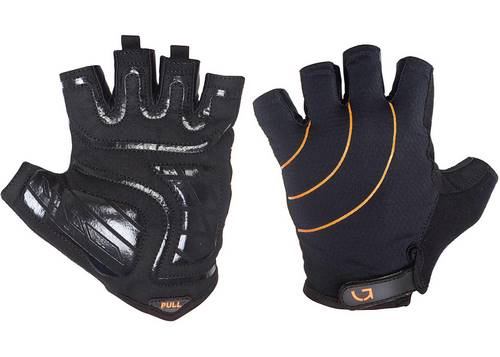 Перчатки Green Cycle Nimble без пальцев M черно-оранжевые