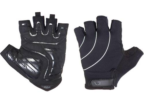 Перчатки Green Cycle Nimble без пальцев XL черно-белые