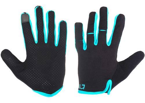 Перчатки Green Cycle Punch с закрытыми пальцами S черно-синие