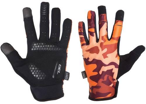 Перчатки Green Cycle Rocker с закрытыми пальцами S коричневый камуфляж