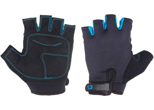 Перчатки Green Cycle SIMPLA без пальцев XL черно-синие