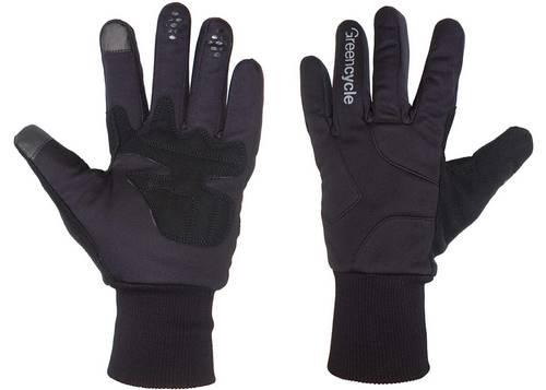 Перчатки Green Cycle Tourer зимние S черные