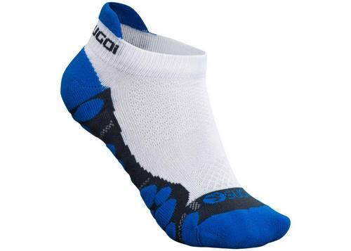 Носки Sugoi RSR TAB, бело-синие, S