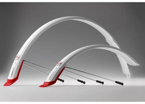 Комплект крыльев 28 SIMPLA Ubiquit SDL 46mm, с брызговиками, белые