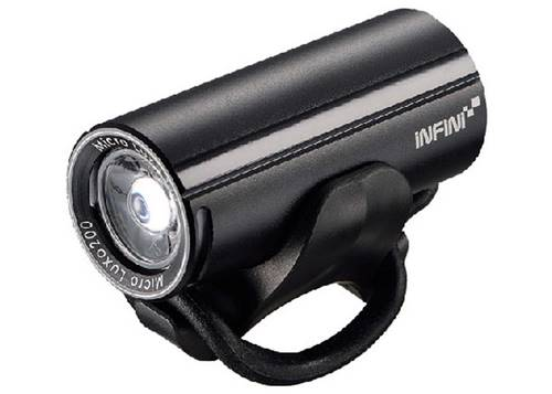 Фара передняя Infini MICRO LUXO I-273P-Black, светодиод 3W, 4 режима, USB кабель, с крепл.