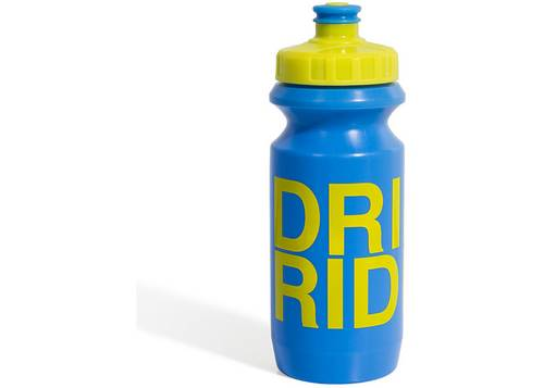 Фляга 0,6 Green Cycle GBT-512M Drink & Ride с Big Flow valve, LDPE blue nipple/ yellow matt cap/ blue matt bottle
