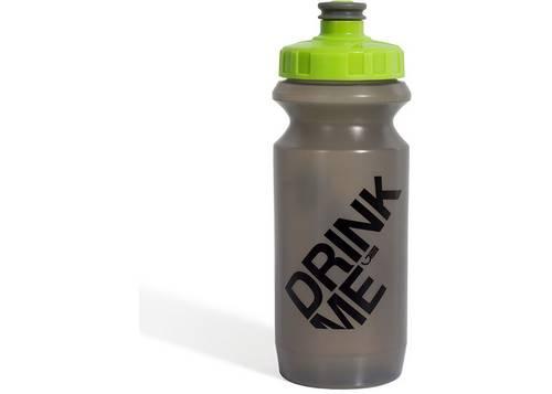 Фляга 0,6 Green Cycle GBT-512M Drink Me с Big Flow valve, LDPE gray nipple/ lime cap/ gray matt bottle