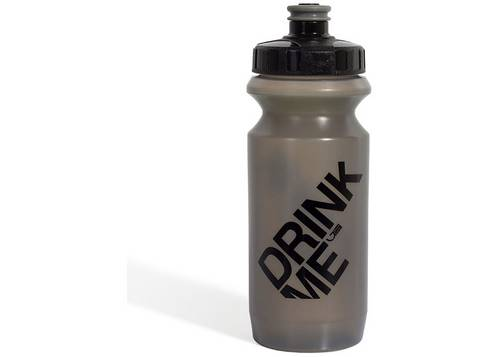 Фляга 0,6 Green Cycle GBT-512M Drink Me с Big Flow valve, LDPE gray nipple/black matt cap/gray matt bottle