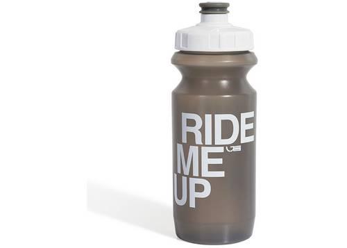 Фляга 0,6 Green Cycle GBT-512M Ride Me Up с Big Flow valve, LDPE gray nipple/white matt cap/gray bottle